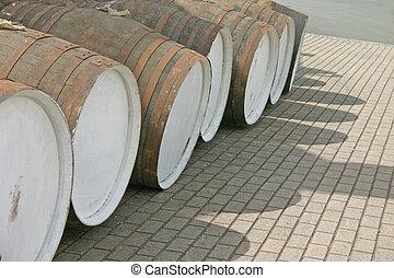 Whisky Barrels in Scotland UK