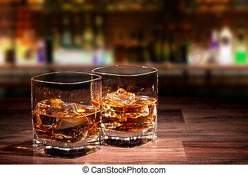 whisky, bebidas