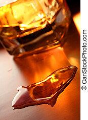 whisky, corazón
