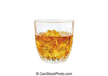 Whisky Glass; Clipping path