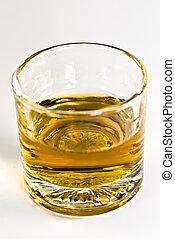 whisky, lövés