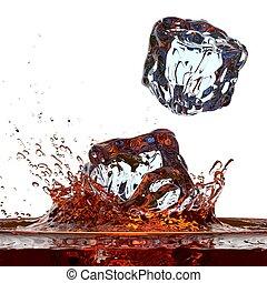 Whisky ( or cola ) splash