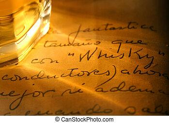 whisky, serie