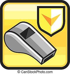 Whistle Icon Web style