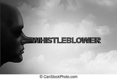whistleblower, csalás