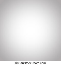 White abstract background with grey gradient - White...