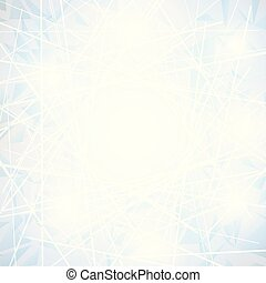 White Abstract polygonal space low poly background