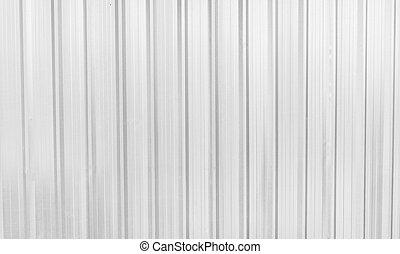 White aluminium texture