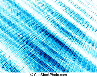 White and blue striped background - abstract digitally generated image
