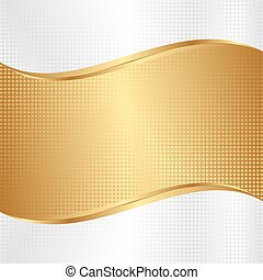 background - white and gold abstract background