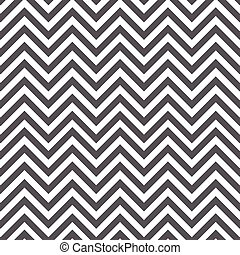 White and gray geometric chevron pattern