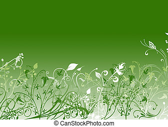 White and green texture