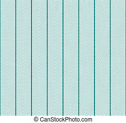 White and Teal Zigzag Textured Fabric Pattern Background...