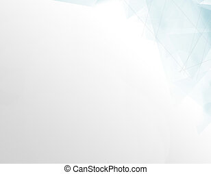 White backdrop with blue pattern