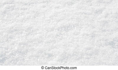 white background of fresh snow texture