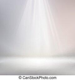 white background spotlight