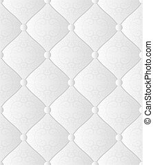 white background - white seamless background - quilted...