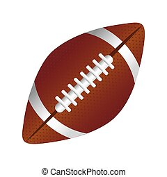 white background with football ball