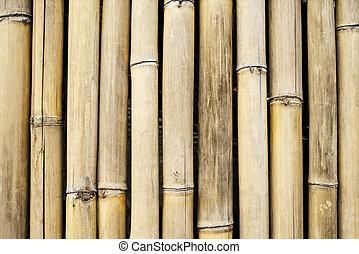 White bamboo fence background