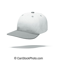 White Baseball Hat
