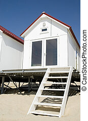 White beach-house
