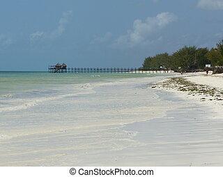 White beach
