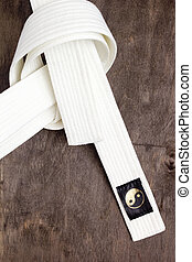 White belt karate