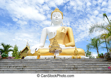 White Big Buddha