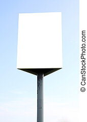 white bill board advertisement