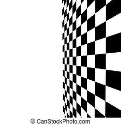 white-black checkered background for design-works....