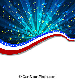 White blank background and fireworks - Colour fireworks and...