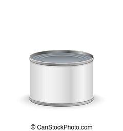 metal tin can