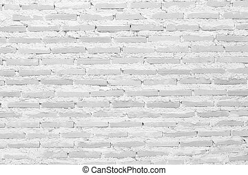 White block wall for background
