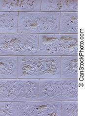 White block wall texture