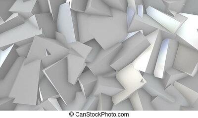 White blocks.