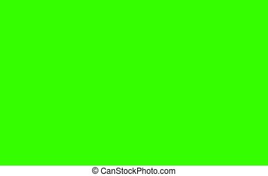 white blue tone four direction three size arrow sign three step blink and faded on green screen