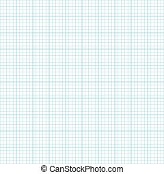 White blueprint seamless pattern texture background. Vector illustration