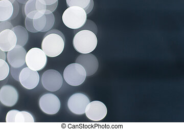 White Blurred Celebration Fairy Lights