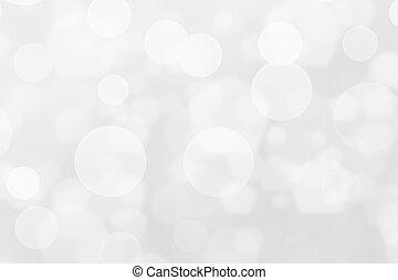 White Bokeh Background Texture