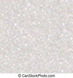 White bokeh lights background. Seamless texture. Tile ready.