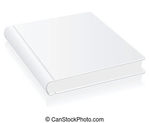 white book vector illustration