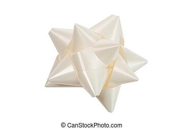 white bow gift