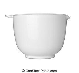 white bowl dish kitchen
