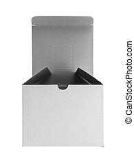 White box isolated on white