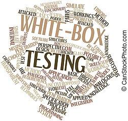 white-box, pruefen