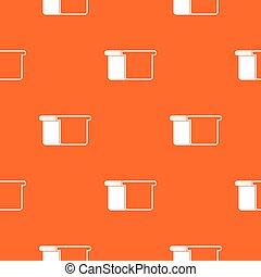White bread pattern seamless