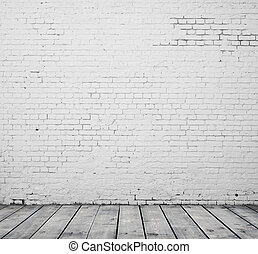 white brick room - High resolution white brick room