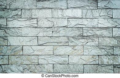 white brick stone