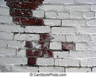 White Brick Wall 4