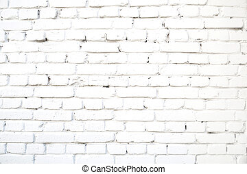 White brick wall abstract concrete old cement grunge background